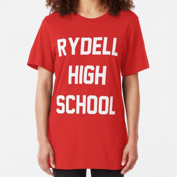 Grease Rydell High School Camiseta ajustada