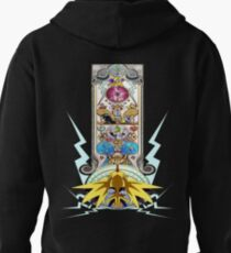 Electric Type Pullover Hoodie