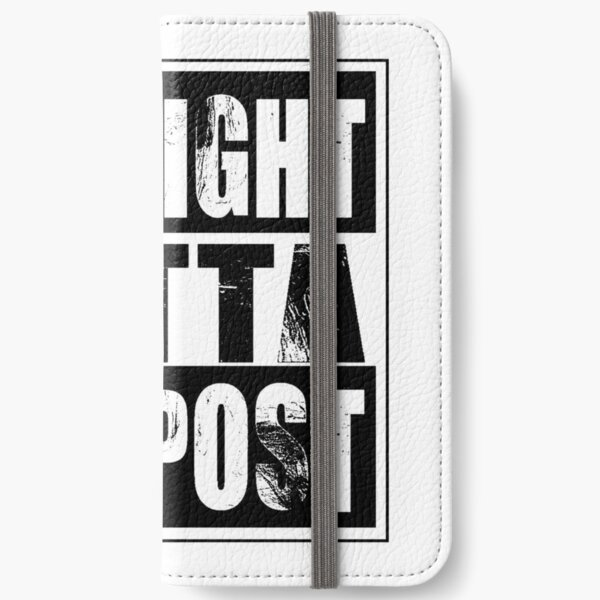 Straight Outta Compost iPhone Wallet