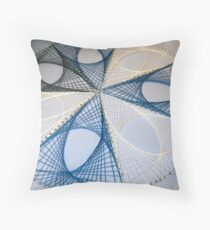 Overlapping Calculus Curves Throw Pillow