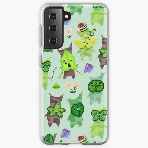 Legend of Zelda Breath of the Wild Korok Pattern Samsung Galaxy Soft Case