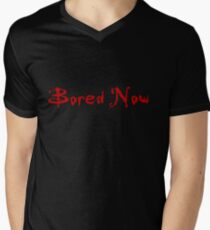 Bored Now (Red) T-Shirt
