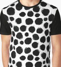 Ink circles pattern Graphic T-Shirt