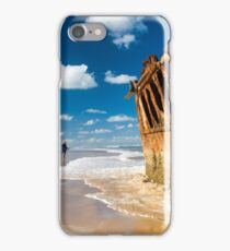 Fishing for Wrecks - SS Maheno iPhone Case/Skin