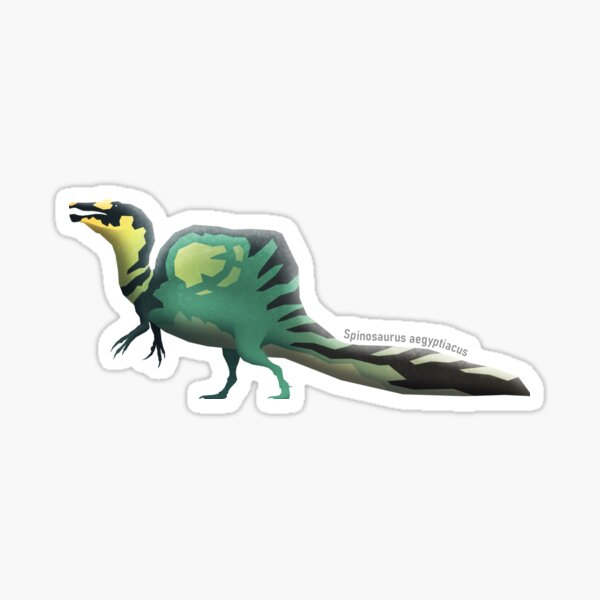 Spinosaurus aegyptiacus Sticker
