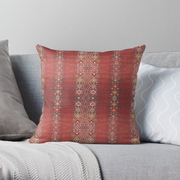Bohemian Hippie Traditional Moroccan Style Throw Pillow