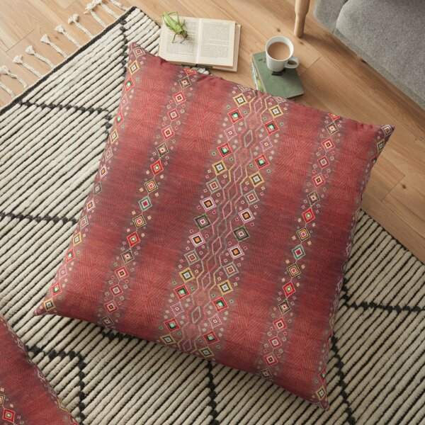 Bohemian Hippie Traditional Moroccan Style Floor Pillow