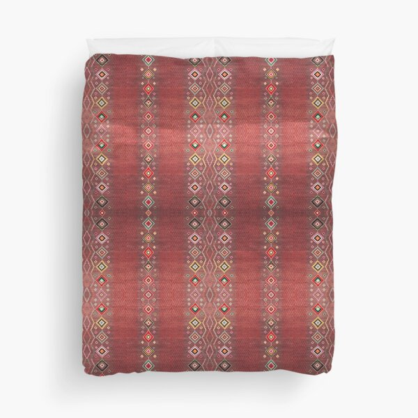 Bohemian Hippie Traditional Moroccan Style Duvet Cover