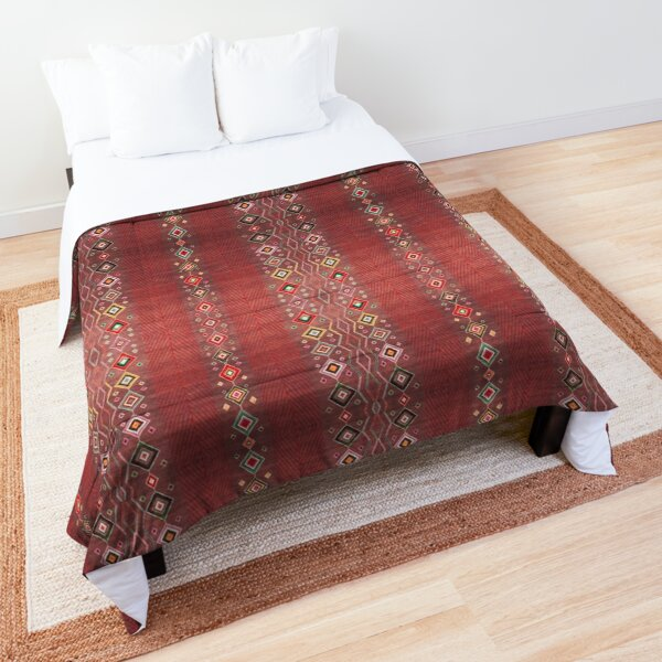 Bohemian Hippie Traditional Moroccan Style Comforter