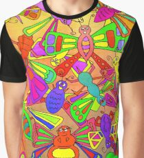Barmy Butterflies Graphic T-Shirt