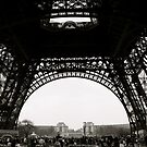 Eiffel Tower 5 by Dimple Dhabalia - Roots in the Clouds