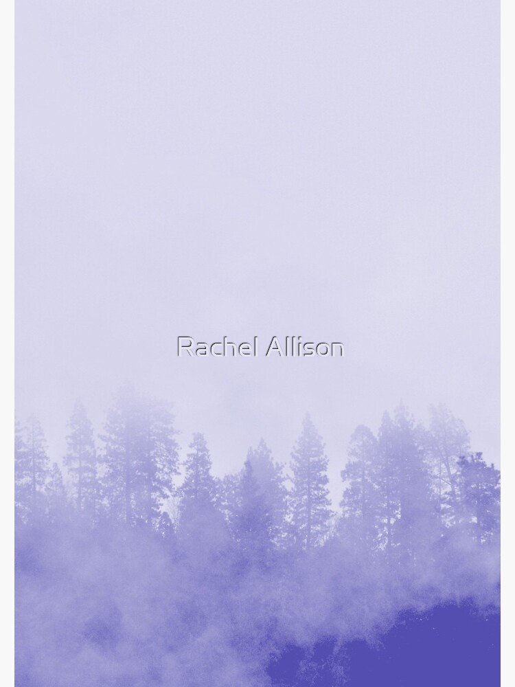 Purple Fog in the Trees by rachelallison