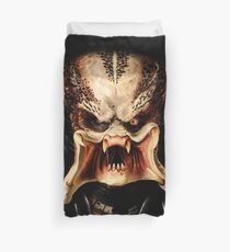 Predator face Duvet Cover