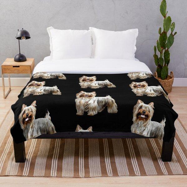 Australian Silky Terrier Throw Blanket
