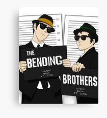 The Bending Bros Canvas Print