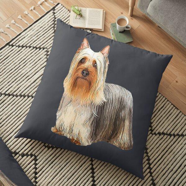Silky Terrier - Australian Silky Terrier Floor Pillow