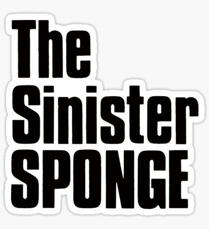 The Sinister Sponge Sticker