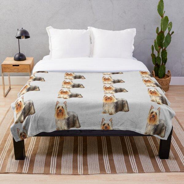 Silky Terrier - Australian Silky Terrier Throw Blanket