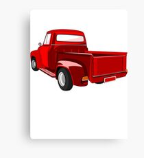 FORD F-100 PICK-UP TRUCK Canvas Print