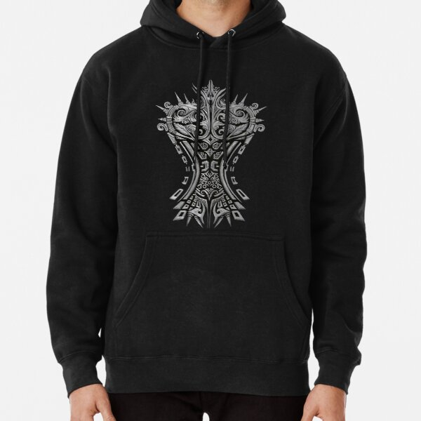 SILVER KNIGHT Pullover Hoodie