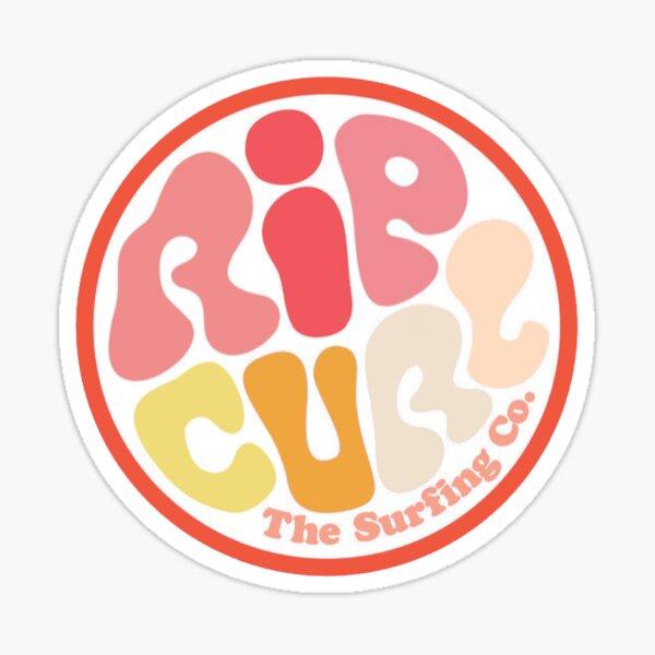 Rip Curl: warm Color Block Sticker