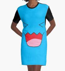 wobbuffet Graphic T-Shirt Dress