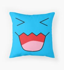 wobbuffet Throw Pillow