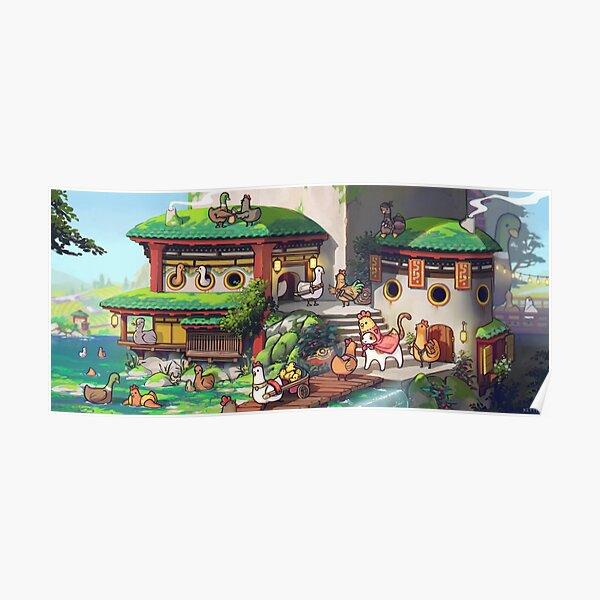 Duck Village Poster