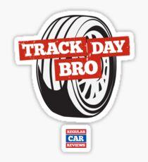 Track Day Bro Sticker