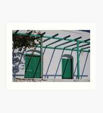 Amorgos, Greece Art Print