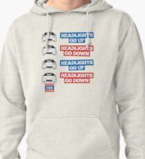 """Headlights Go Up/Down"" Miata MX-5 Pullover Hoodie"