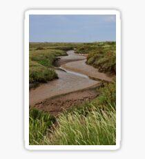 Blakeney mudflats and saltmarsh Sticker