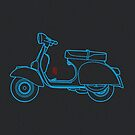 Vespa Lines  by 73553