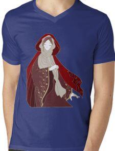 Red Riding Hood Mens V-Neck T-Shirt