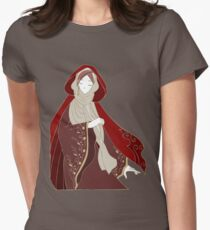 Red Riding Hood Womens Fitted T-Shirt