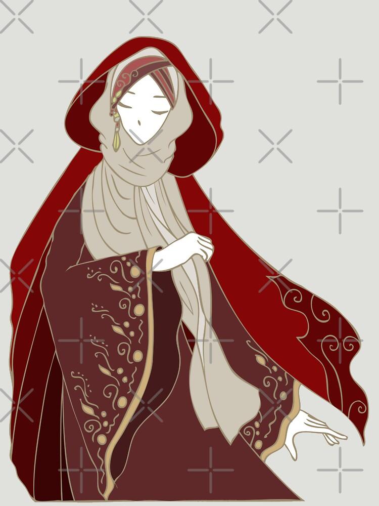 Red Riding Hood by uyayyayu