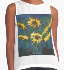 Sunflowers Contrast Tank