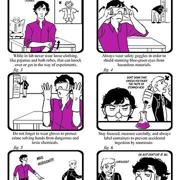 Lab Safety with Sherlock Holmes  by toastytofu