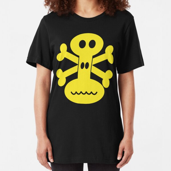 NDVH Skull and Crossbones Slim Fit T-Shirt