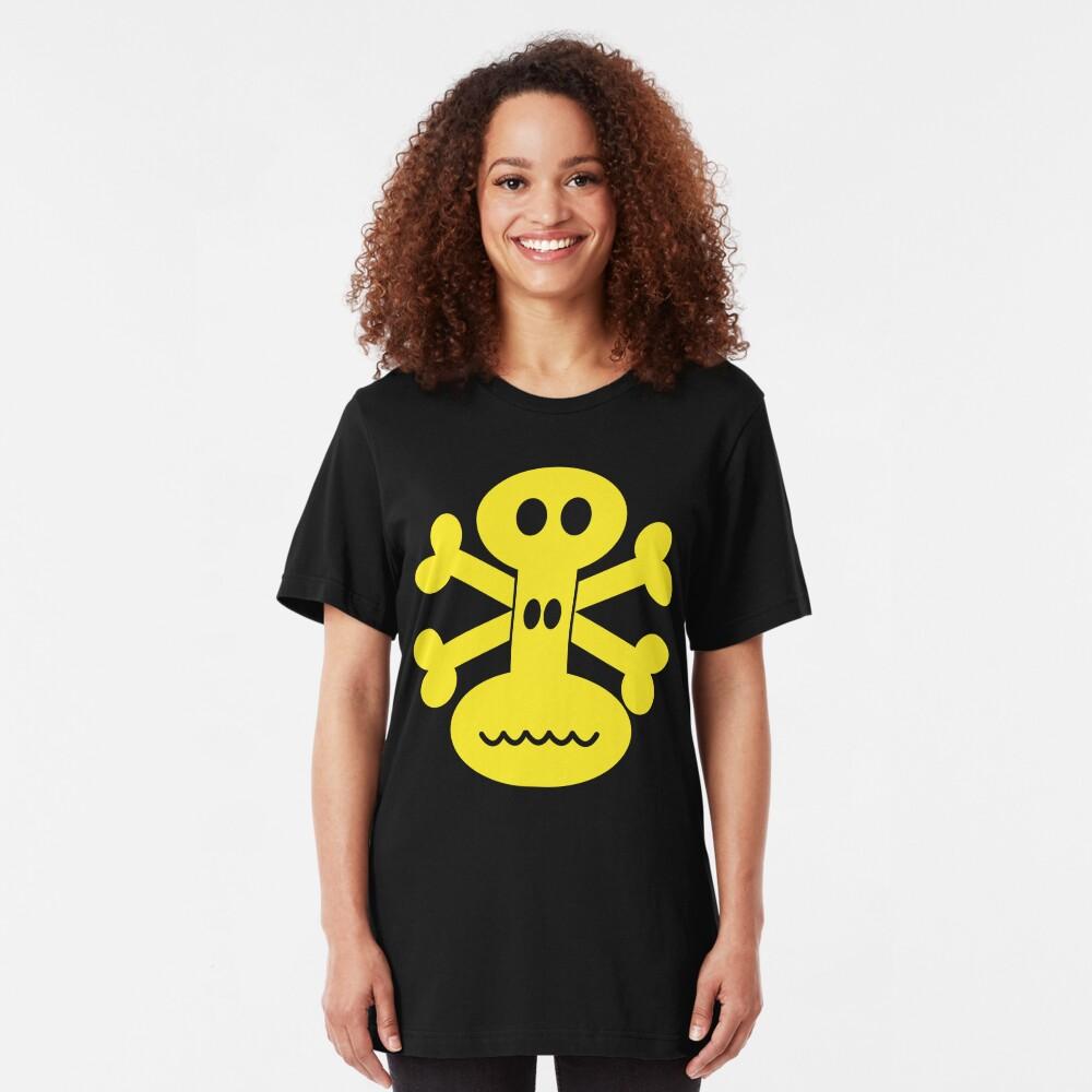 NDVH Skull and Crossbones Slim Fit T-Shirt
