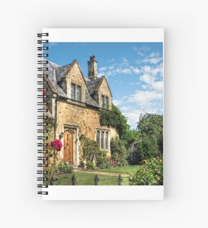 Country Cottage HDR art Spiral Notebook