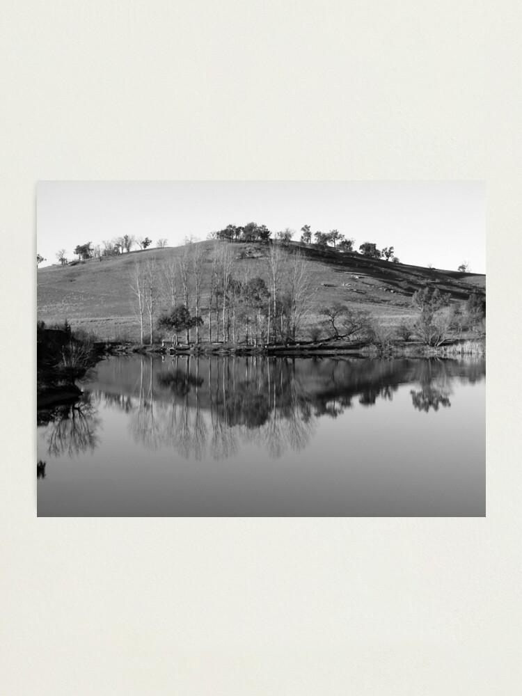 Alternate view of Allan's Flat, Victoria Photographic Print