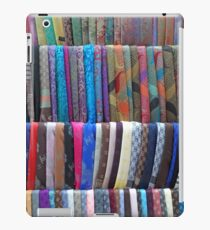 Rows Stripes of Hanging Colourful Pashmina Scarves  iPad Case/Skin