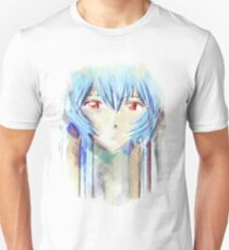 Ayanami Rei Evangelion Anime Tra Digital Painting  Unisex T-Shirt
