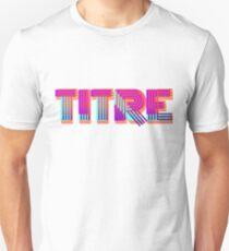TITRE ! T-shirt unisexe