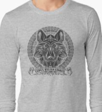 Legend of Zelda Twilight Princess Wolf Link Line Artly  Long Sleeve T-Shirt