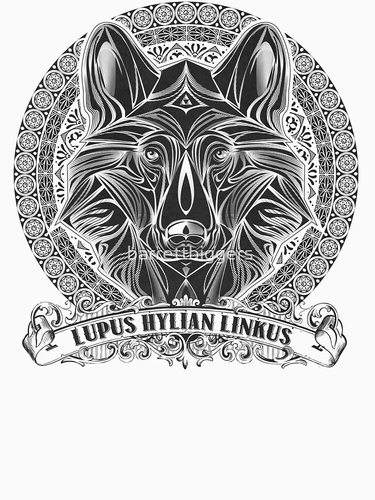 Legend of Zelda Twilight Princess Wolf Link Line Artly  | Unisex T-Shirt