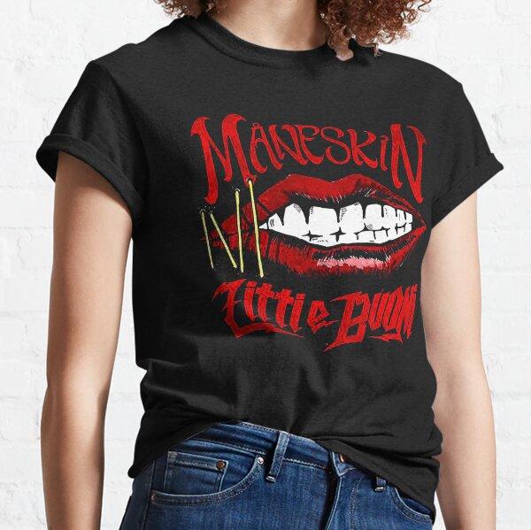 Selling Maneskin maneskin little buoni Classic T-Shirt