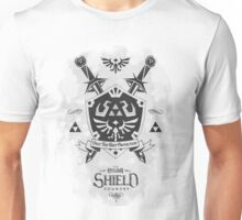 Legend of Zelda Hylian Shield Geek Line Artly  Unisex T-Shirt