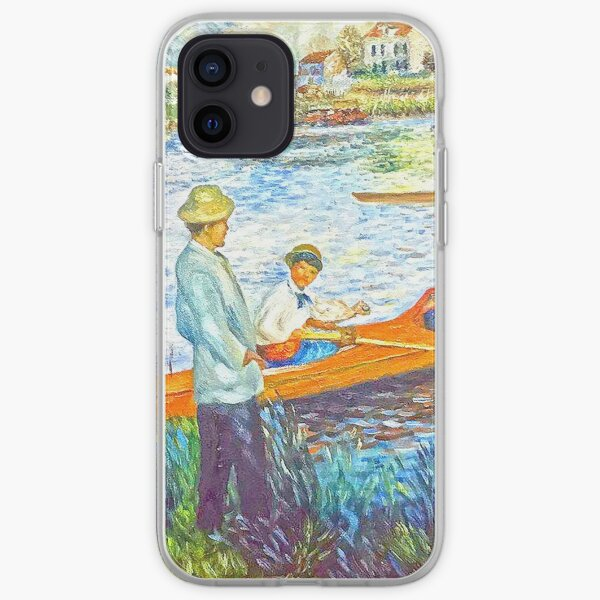 oarsmen at chatou iPhone Soft Case